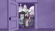 S5E01.022 Everyone Fed Up with Mordecai's Self-Pity