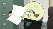 S7E03.183 Mr. Maellard Trying to Read the Letter