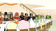S5E12.410 People at Thanksgiving Dinner 02