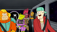 S8E27P1.182 Driver Chatting with Anti-Pops and Bounty Hunters