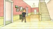 S4E01.007 Thomas walking through the corridor