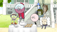 S6E22.003 What's with the fancy spread