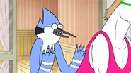 S6E21.127 Mordecai Asking for One Hour to Study