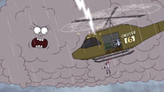 S6E20.225 CJ Striking the Helicopter with Lightning