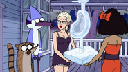 S2E09.102 Mordecai and Rigby Getting the 8 Dollar Promotional Ice Sculpture