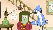 S3E34.100 Mordecai Asking Muscle Man and HFG for the VHS
