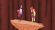 S4E13.328 Mordecai and Rigby Death Jumping