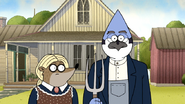 S6E21.154 American Gothic, Regular Show Style