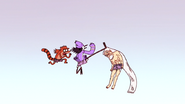 S4E13.269 Grand Master Dodging Mordecai's Kick