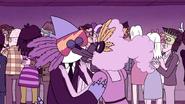 S5E14.105 Mordecai & CJ Kissing 3