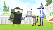 S7E19.081 Gene Thinks He Knows What Mordecai and Rigby are Doing