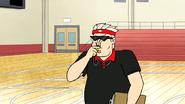 S7E21.064 Jablonski Blowing His Whistle