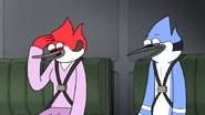 S6E20.169 Mordecai and Margaret Laughing