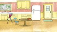 S4E13.056 Benson Walking into the Kitchen