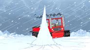 S4E26.170 Mordecai Avoiding the Ice Spike