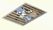 S2E09.012 Mordecai and Rigby Looking Down the Vents