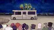 S3E04.147 Skull Punch Performing on the RV