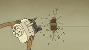 S6E21.201 Rigby Rips Off the Pencil Sharpener Off the Wall