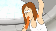S7E32.214 Pam Covering Her Mouth