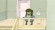 S3E04.292 Muscle Man Asking Rigby if He Can Use His Bathroom