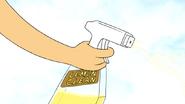 S4E27.064 Thomas with a Disinfectant Spray