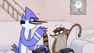 S2E09.216 Mordecai and Rigby Acting Humble