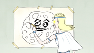 S4E16.101 Gary Trying to Make His Drawing Obvious