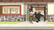 S6E12.064 The Park Managers Going Inside Boscoe's Chicken and Waffles