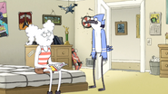 S6E01.111 Mordecai's Mom Saying Dinner is Ready