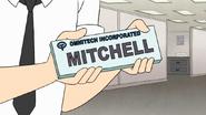 S7E25.112 Mitchell Name Plate
