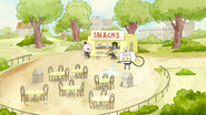 S4E31.029 The Park Staff Working at the Snack Bar