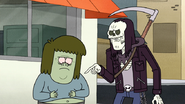 S4E34.100 Death Points Out Muscle Man's Full Stomach