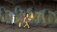 S4E17.122 Gregg Leading Mordecai and Rigby to Diane