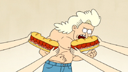 S4E13.009 Blonde Guy Eating Two Death Sandwiches