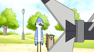 S6E23.026 Mordecai and Rigby are Amazed with the Jaws of Life