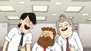 S7E25.150 Cube Bros Laughing at Muscle Man