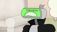 S8E19.245 My fearometer seems to be stuck at two