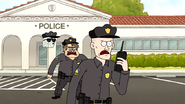 S7E13.079 We have two escaped convicts heading east in a golf cart