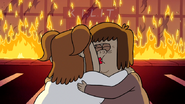 S4E23.090 Muscle Man and Starla Making Out