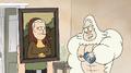 S8E19.009 Skips Complimenting Sally's Mona Lisa Costume