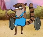 Bodybuilder (rigby's body)