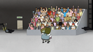 S6E14.218 The Audience Cheer for Muscle Man and Starla