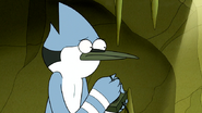 S6E19.163 Mordecai Asking the Game for Help