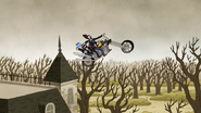 S5E21.40 Death Jumping His Bike