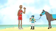 S6E19.084 A Basketball Player and a Jockey