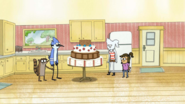 S5E32 A Very Large Cake