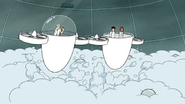 S7E05.382 Dr. Dome and His Crew Appearing Above the Clouds