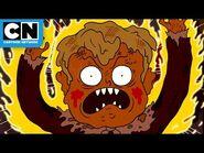 Regular Show - Mordecai and Rigby vs Evil Doll - Cartoon Network
