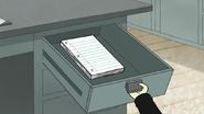 S7E03.030 Mr. Maellard Getting Paper
