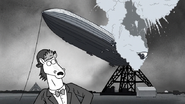 S6E21.153 Party Horse Witnessing the Hindenburg Disaster